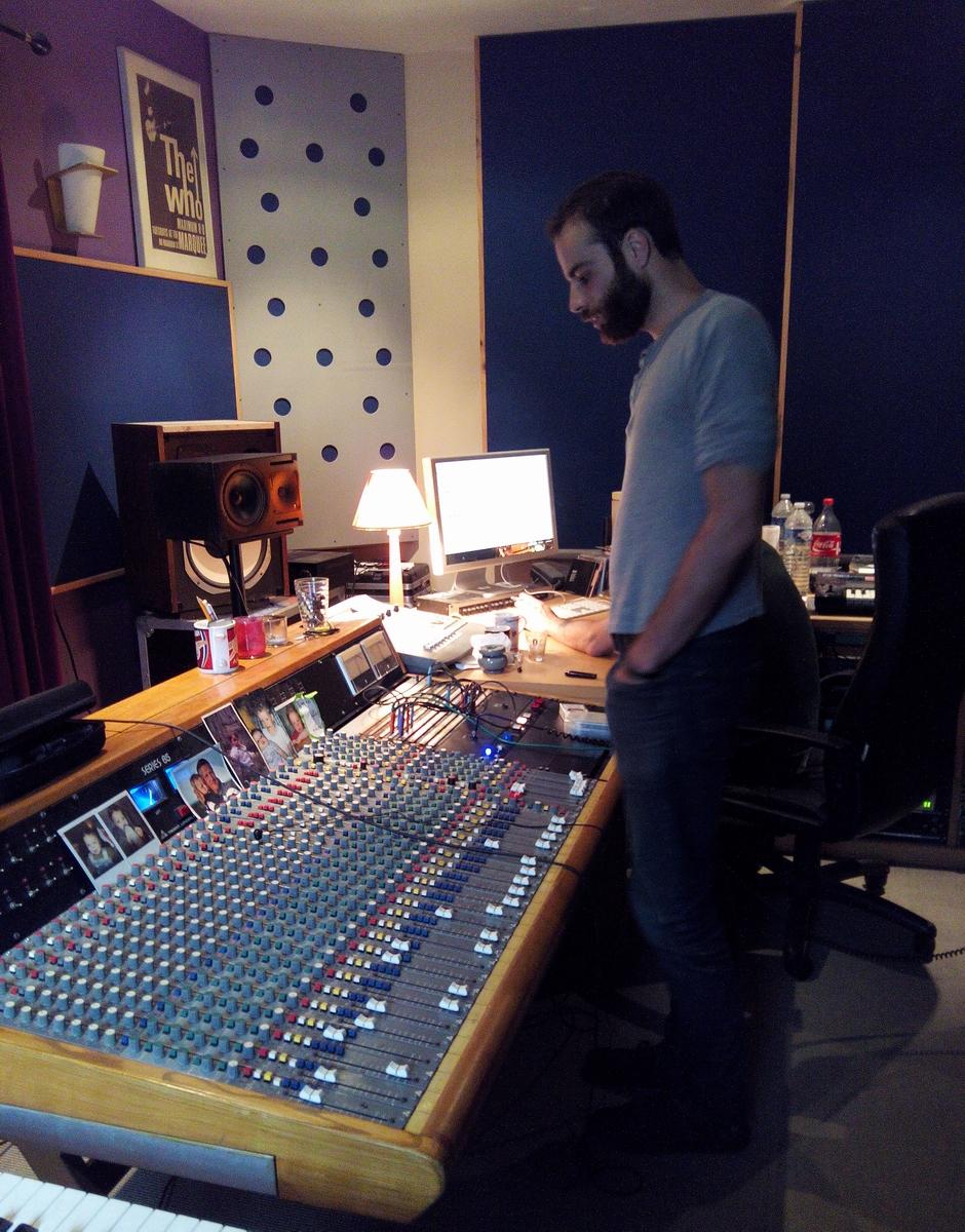 Parnell en studio